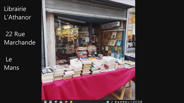 Librairie L'Athanor- Le Mans