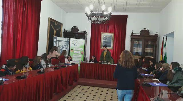 Parlamento joven, Entrega de llaves al Alcalde