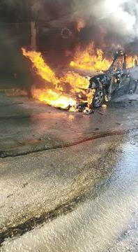 عاجل|| مشاهد صادمة للمفخخة التي ضربت مدينة عفرين (صور+فيديو)
