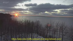 Lake Erie Bluffs Sunset 14FEB2020