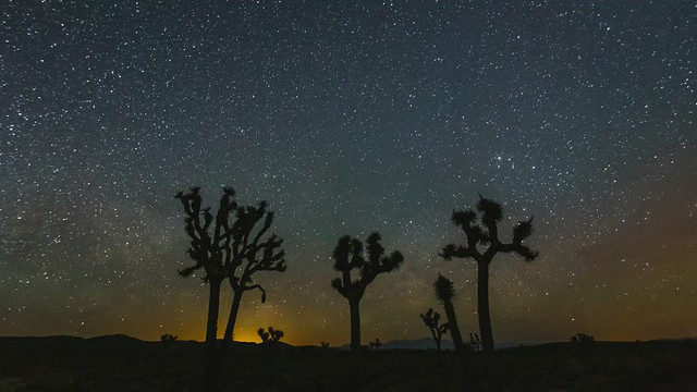 Mojave Desert Milky Way Rise
