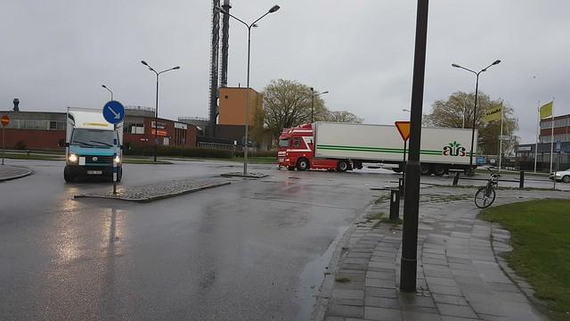 DAF CF 85 SSC (06:30 Wake up people!!) - Ramon Kuyf Transport - Alex Andersen Ølund AS Danmark
