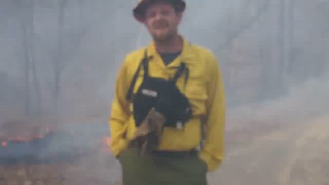 #GoodFire at Georgia Mountain Orchard with Mike Brod on Chattahoochee National Forest in 2011