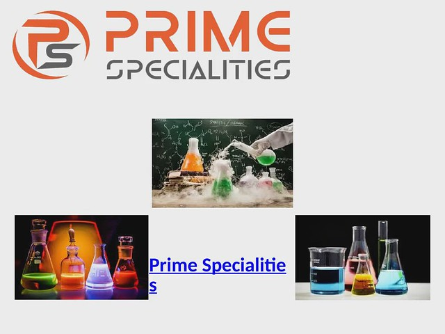 Prime Specialities video