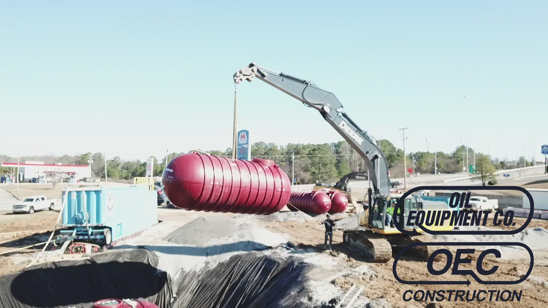 OEC 2020-02 McCullough Oil Cullman drone fuel tank install