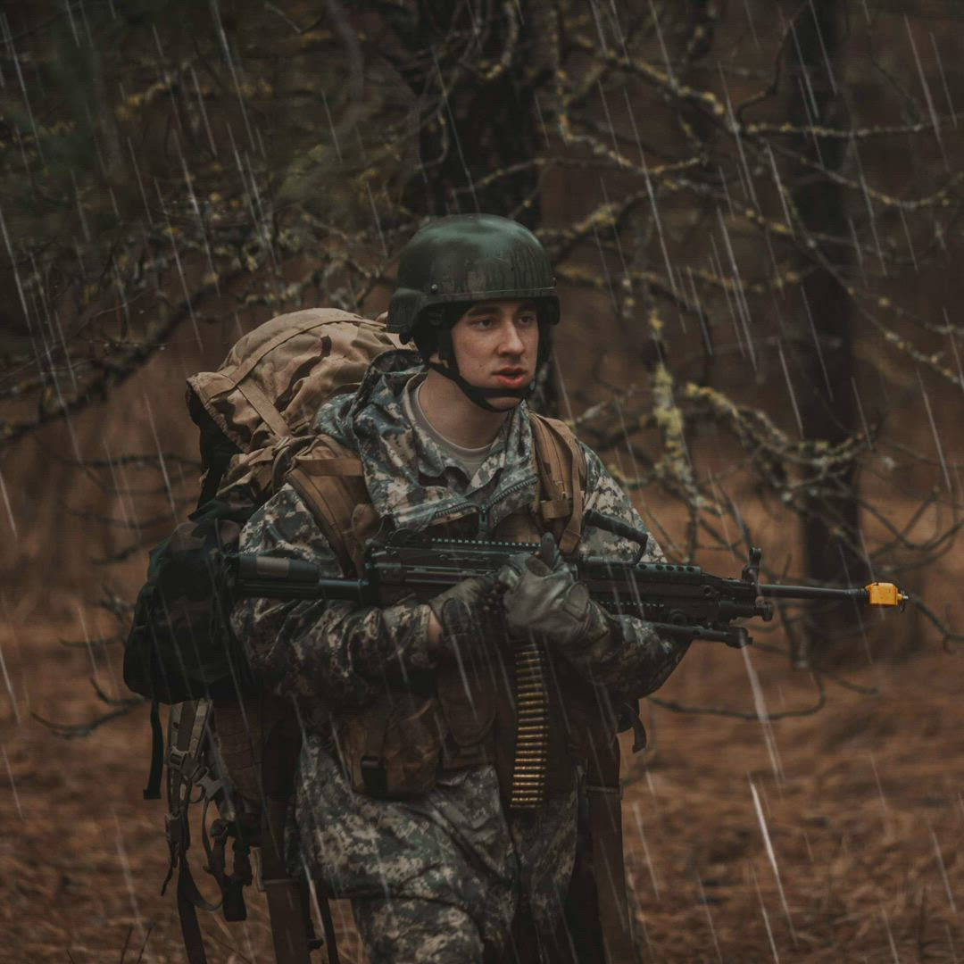 Pictures from the EWU Army ROTC Winter FTX