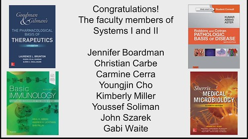 Best wishes from systems faculty!