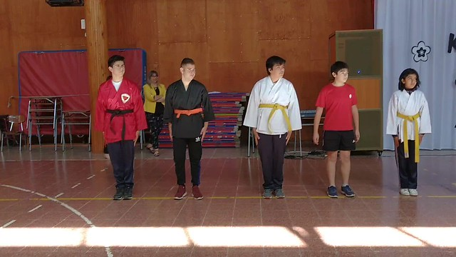 Linsem-Vídeo Muestra de Karate 2019.