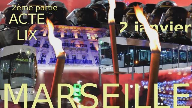 Acte 59 gilets jaunes Marseille 2ème partie