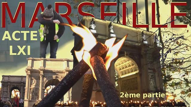 Acte 61 gilets jaunes Marseille 2ème partie