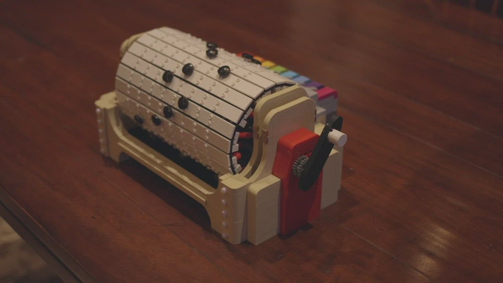 Lego Music Box In Action!