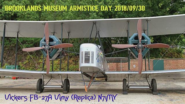 Vickers FB-27A Vimy (Replica) N71MY