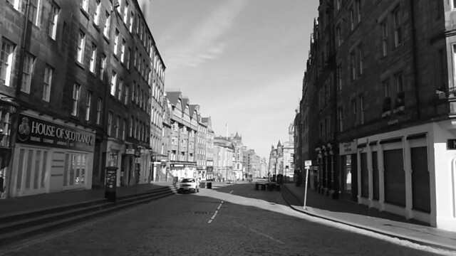 Vid - Deserted Royal Mile