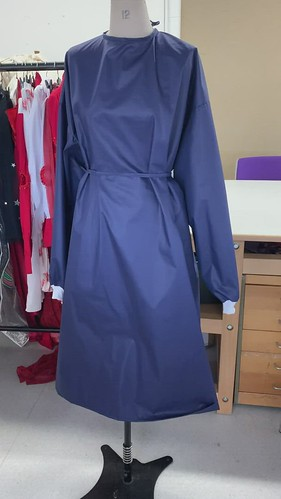 sample gown video front