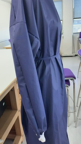 sample gown video side