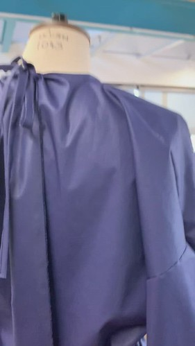 sample gown video back