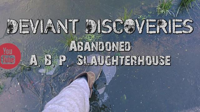 Abandoned Slaughterhouse / Abattoir, Bathgate, Scotland.