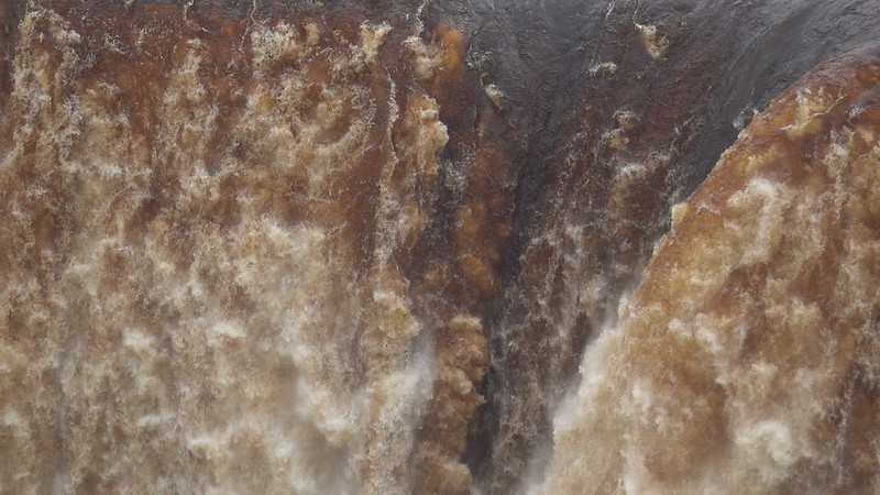 The falls at Kaieteur, Guyana