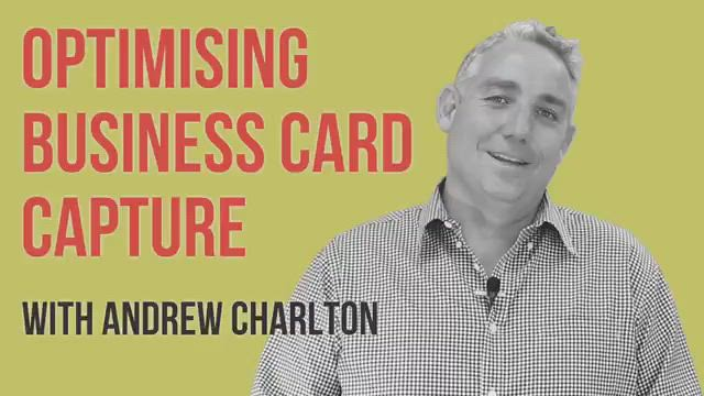Optimising business card capture with Microsoft Dynamics 365