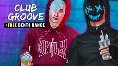 GIFT + NEW MALE bento dance (Groove series)