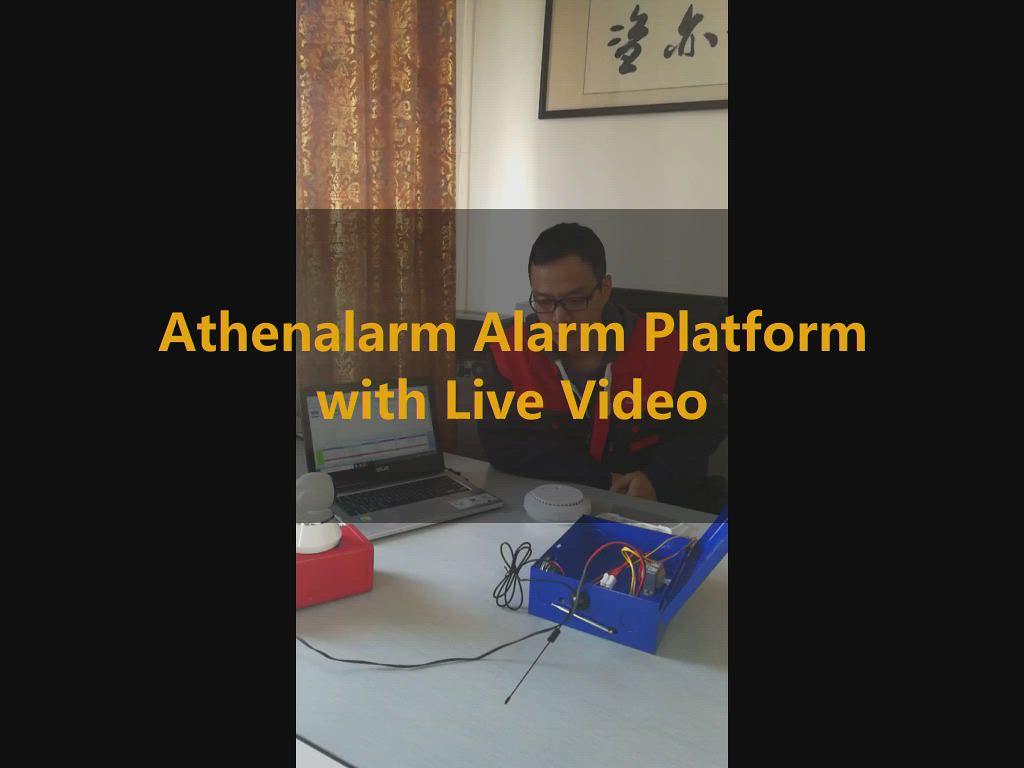 Athenalarm Alarm Platform with Live Video
