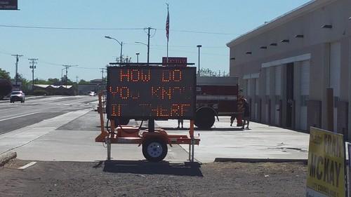 3 Panel Sign