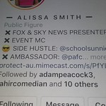 2020 SAT 30TH MAY CHAT AND LIKE FROM ALISSA SMITH FROM FOXSPORTS NEWS LIKED MY COMMENT AND REPLYED BACK ALSO