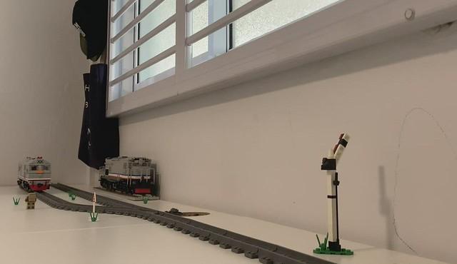KTMB 24 Class with updated 4-wide narrow gauge bogie