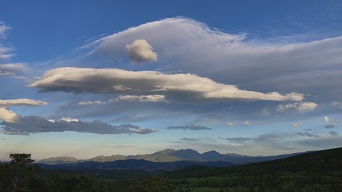 mountainwavecloud mountthorodin southernrockymountains colorado mountainresearchstation sunset timelapse video