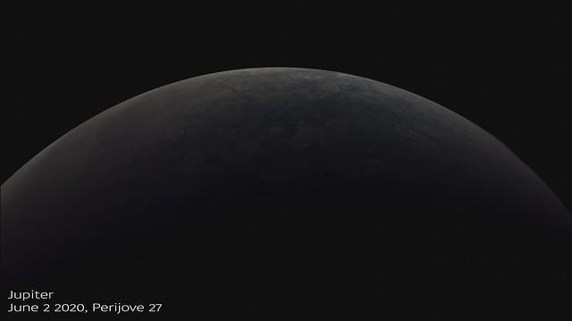Juno's Perijove 27, June 2 2020