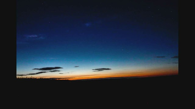 Noctilucent Clouds Timelapse - 19th/20th June 2020
