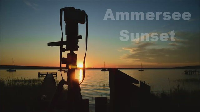 Herrsching - Ammersee Sunset Timelapse