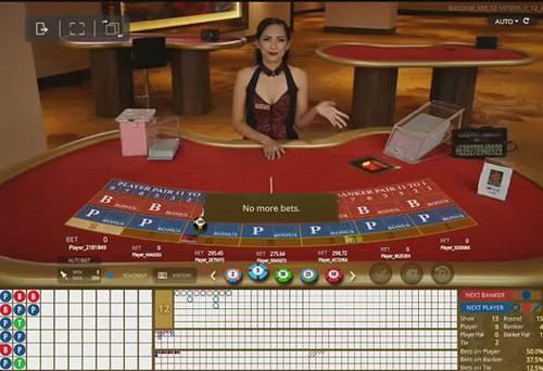 Baccarat - Dealer Britney - Vegas Suite - S188.COM