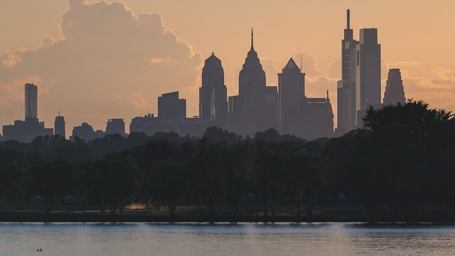 Philly Sunset Time-Lapse - 4K