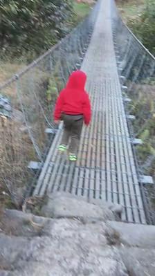 Sumedh, Rasuwa, suspension bridge in nepal
