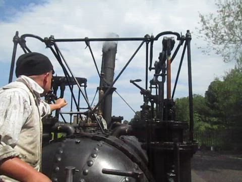 Puffing Billy, Beamish, on the Move