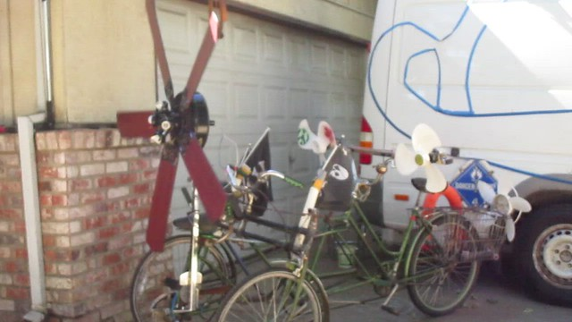 Propellor Trike Tri-motor