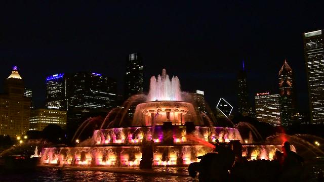 20160604 - Buckingham Fountain at Night