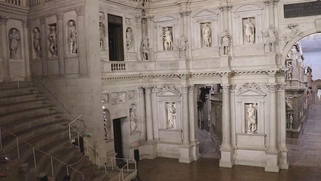 Video Teatro Olimpico Palladio Vicenza hd