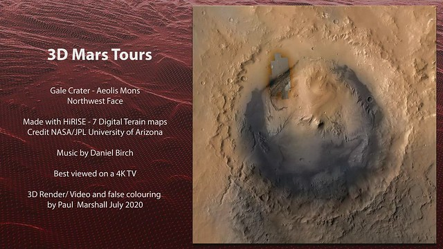 Gale Crater - Aeolis Mons