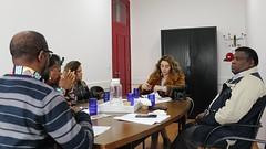 Junta de Freguesia da Santa Clara Recebe os Parceiros Pro-Migrantes no Território