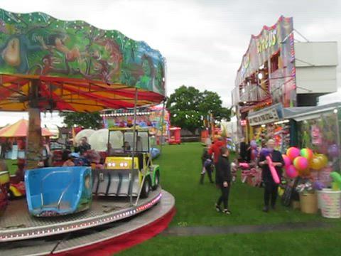 Fairground, Markinch Highland Games 2019