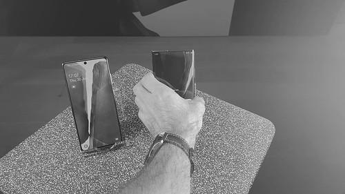 Ben Heine participe au lancement de la nouvelle gamme Samsung Galaxy: Note20 Ultra, TabS7+, Watch3, Buds Live: Prix & dates de sortie