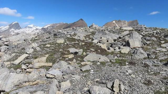 Paget Peak Easy Scramble - Summit video