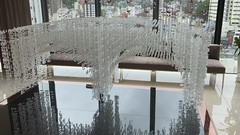 Spectacles Bridge in hanging crystal