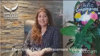 Saludo Miss Marycarmen Velasquez LCSB
