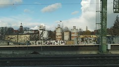 View from train to Berlin, February 2020