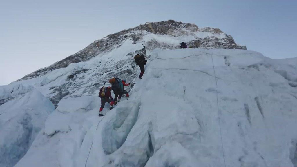 Everest climbing 2018
