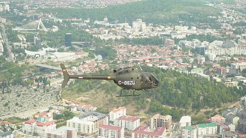 Svečana ceremonija dolaska helikoptera Bell 505 Jet Ranger X - kadrovi