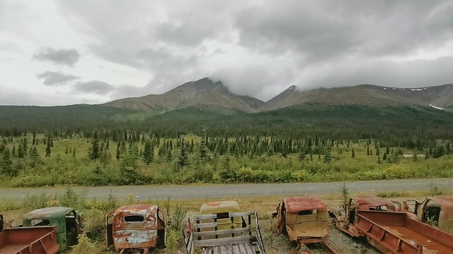 Canol Road Northern Section - Yukon Territory, Canada.
